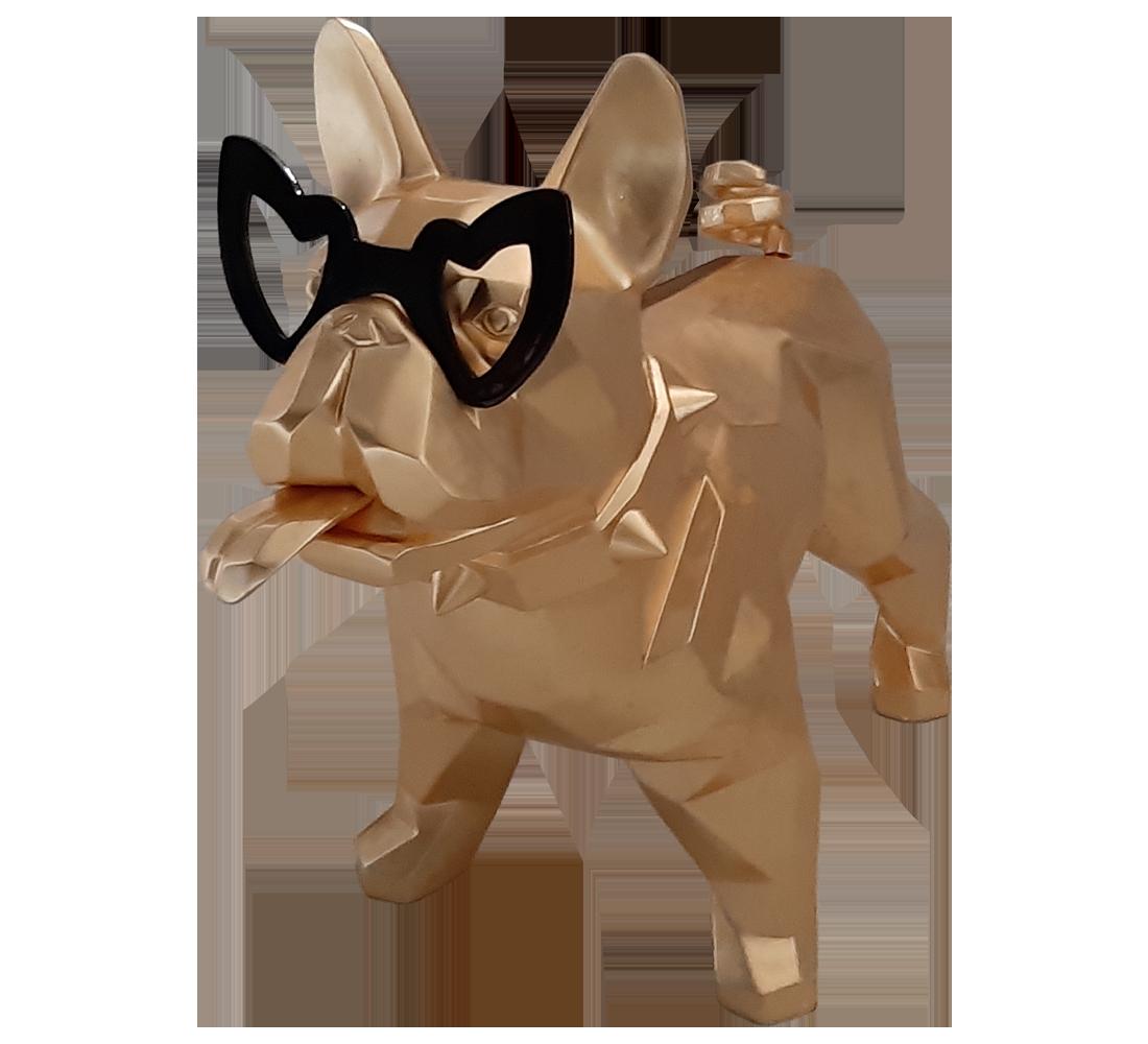 Miss Doggy - Gold Leaf